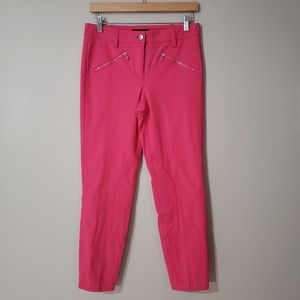 🦋3/$25 Cambio Cropped Pink Skinny Pants Size 6